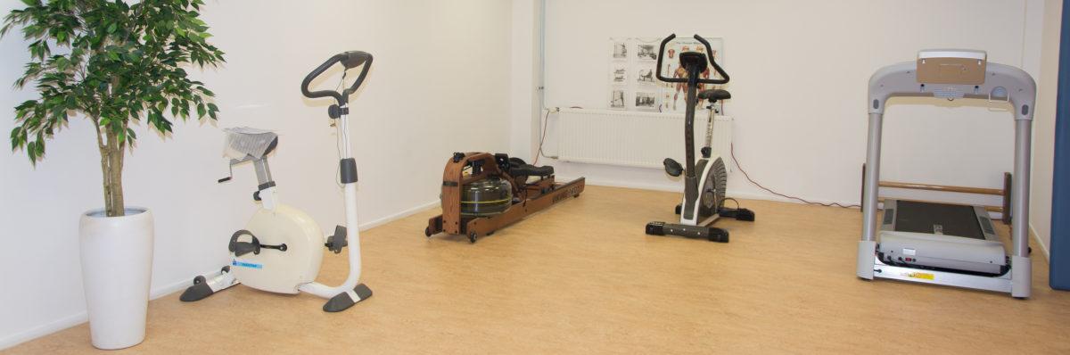 Fysiotherapie Hoppesteyn Oefenruimte Fitnessruimte